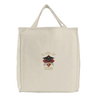 EDIT THE YEAR Graduation Gifts Embroidered Tote Bag