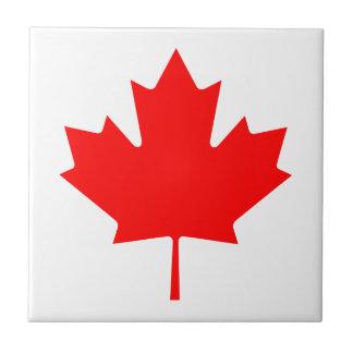 Editable Background Color, Canada Flag Souvenir Ceramic Tile
