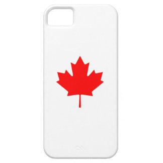 Editable Background Color, Canada Flag Souvenir iPhone SE/5/5s Case