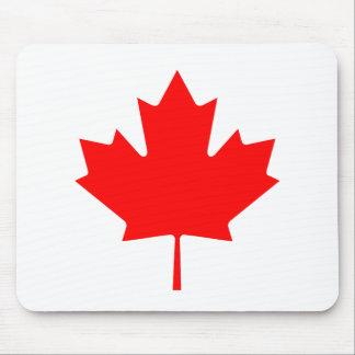 Editable Background Color, Canada Flag Souvenir Mouse Pad