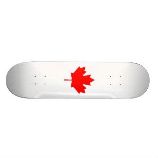 Editable Background Color, Canada Flag Souvenir Skate Decks