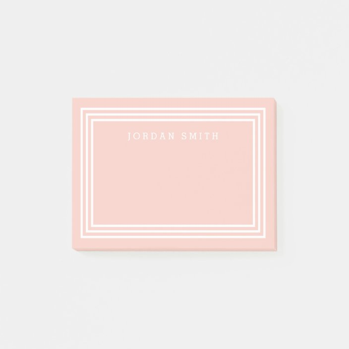 editable background color with triple white border post it notes zazzle com editable background color with triple white border post it notes zazzle com