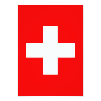 Editable Background, The Flag of Switzerland Card