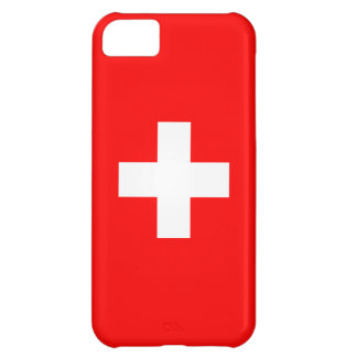 Editable Background, The Flag of Switzerland Cover For iPhone 5C