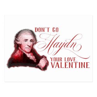 EDITABLE Classical Music w/ Haydn Valentine Card