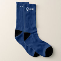 Editable Color Personalized Groom Wedding Socks