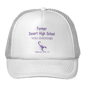 Editable Former DHS Trucker Hat