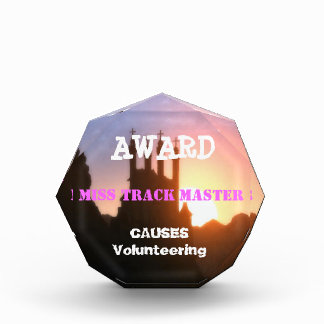 Editable Text Template : Award Causes Volunteering