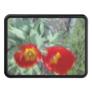 Edited Flower Photo Hitch Cover