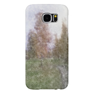 Edited forest photo samsung galaxy s6 cases