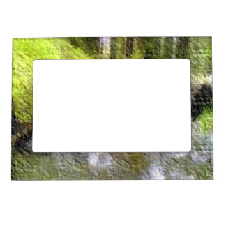 Edited forest photo magnetic picture frames