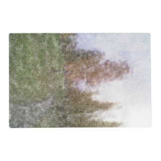 Edited forest photo placemat