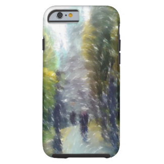 Edited photo building and trees tough iPhone 6 case
