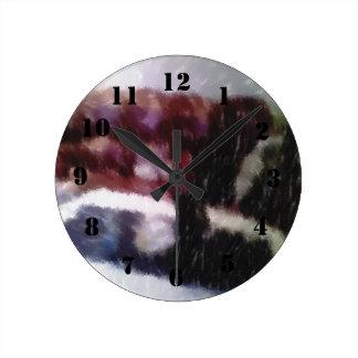 Edited photo Living room Round Clock