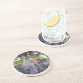edited photo nature and sheep drink coasters