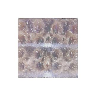 Edited photo of Krumkake Stone Magnet