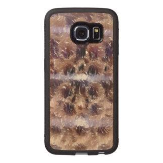 Edited photo of Krumkake Wood Phone Case