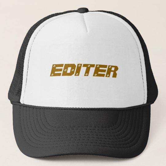 EDITER TRUCKER HAT
