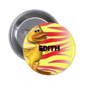 Edith Pinback Buttons