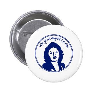Edith Piaf Button