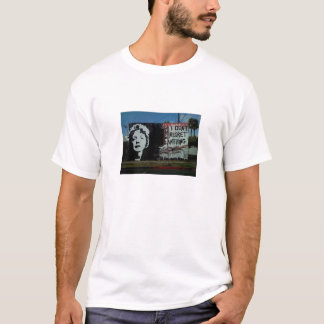 Edith Piaf Street Art T-Shirt
