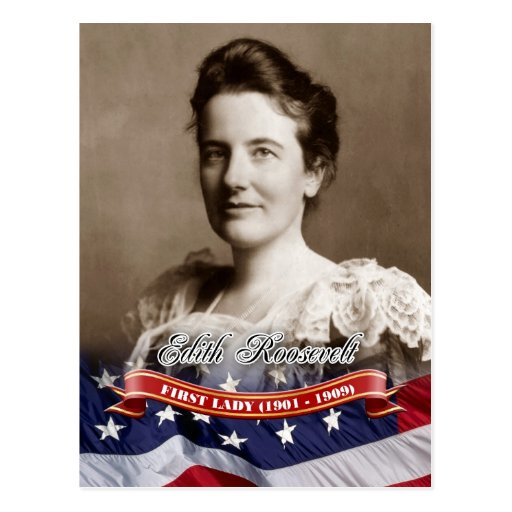 Edith Roosevelt, First Lady of the U.S. Post Cards
