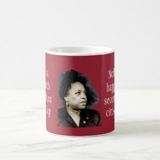 Edith Sampson: African-American citizenship Coffee Mug
