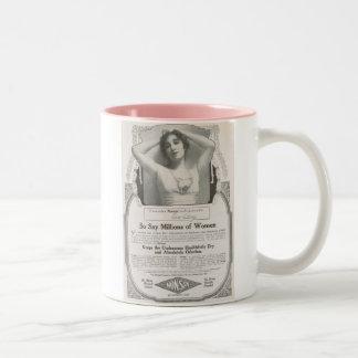 Edith Storey 1918 Two-Tone Coffee Mug
