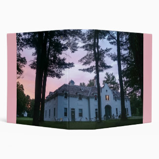 Edith Wharton Mansion Carriage House 3 Ring Binder
