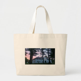 Edith Wharton Mansion Carriage House Large Tote Bag
