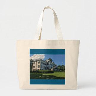 Edith Wharton Mansion Large Tote Bag
