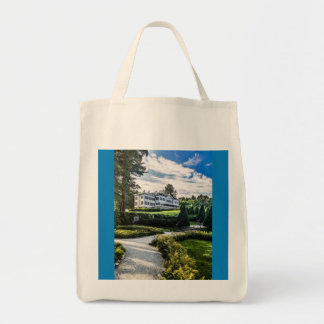 Edith Wharton Mansion Tote Bag