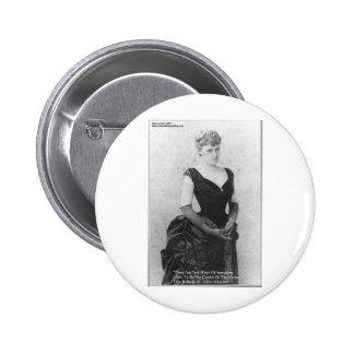 "Edith Wharton ""Spreading Light"" Quote Gifts & Card Button"