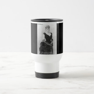 """Edith Wharton """"Spreading Light"""" Quote Gifts & Card 15 Oz Stainless Steel Travel Mug"""