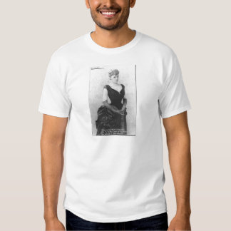 """Edith Wharton """"Spreading Light"""" Quote Gifts & Card Tee Shirt"""
