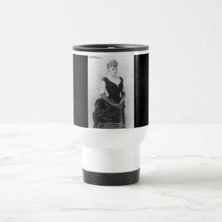 "Edith Wharton ""Spreading Light"" Quote Gifts & Card Travel Mug"