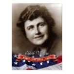 Edith Wilson, primera señora de los E.E.U.U. Postal