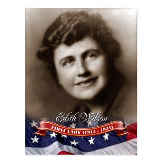 Edith Wilson, primera señora de los E.E.U.U. Postales