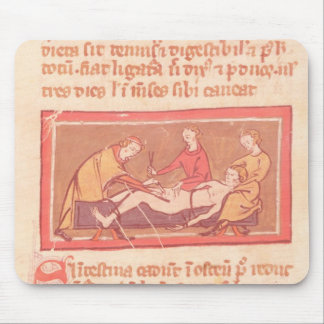 edition of Book of Surgery by Rogier de Salerne Mouse Pads
