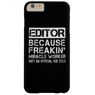 EDITOR BARELY THERE iPhone 6 PLUS CASE