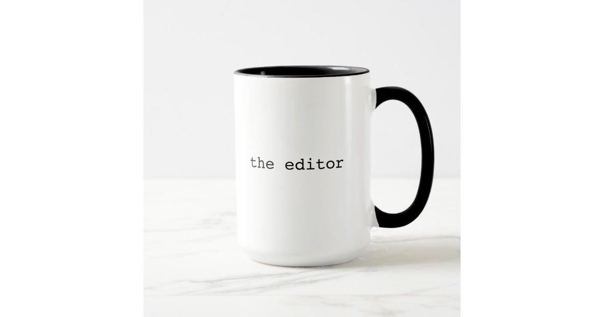 Editor Cool Gift Mug Zazzle