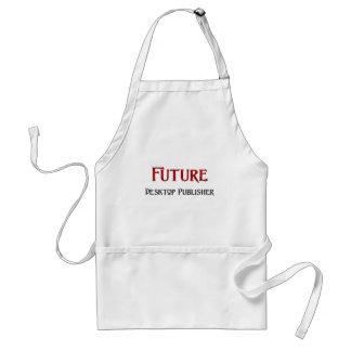 Editor de escritorio futuro delantal