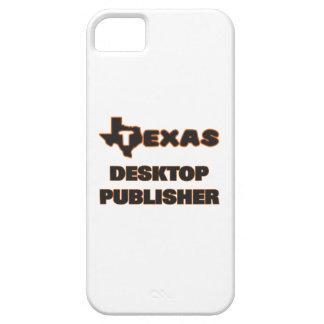 Editor de la mesa de Tejas iPhone 5 Carcasas