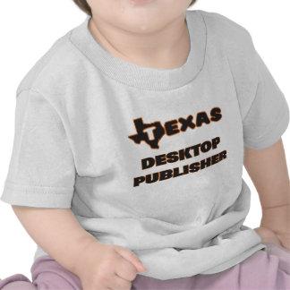 Editor de la mesa de Tejas Camiseta