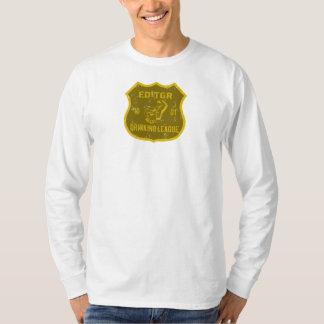 Editor Drinking League T-Shirt