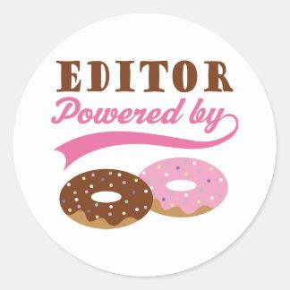 Editor Gift (Donuts) Sticker