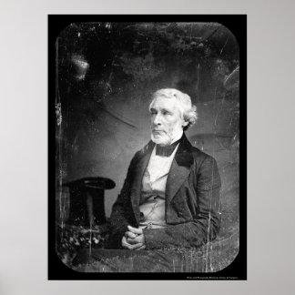 Editor James Bennett Daguerreotype 1851 Poster