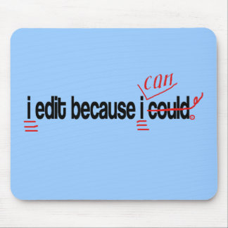 Editor Mouse Pad