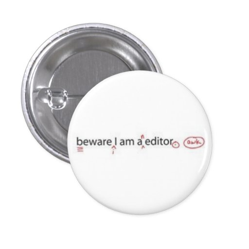 Editor Pinback Buttons
