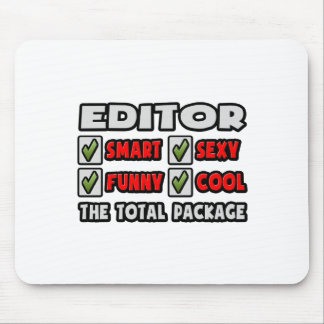 Editor ... The Total Package Mouse Pad